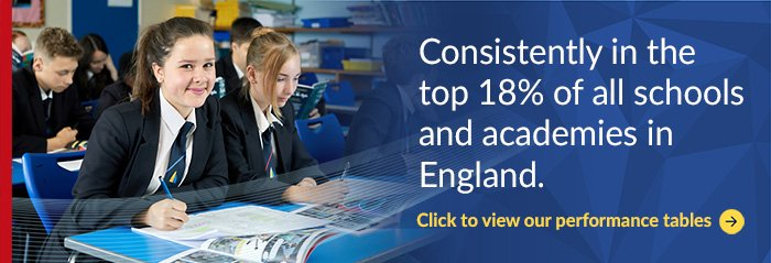 Cliff Park Ormiston Academy - Consistently in the top 18% of all schools and academies in England