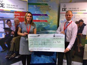 Cliff Park receives a grant from The Duke of Edinburgh Award's (DofE) Diamond Fund