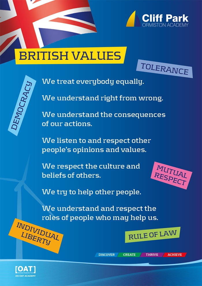 CPOA British Values Poster