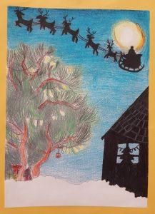 Cliff Park Ormiston Academy Year 7 Christmas Card Winner