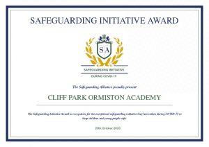 Safeguarding Initiative Award